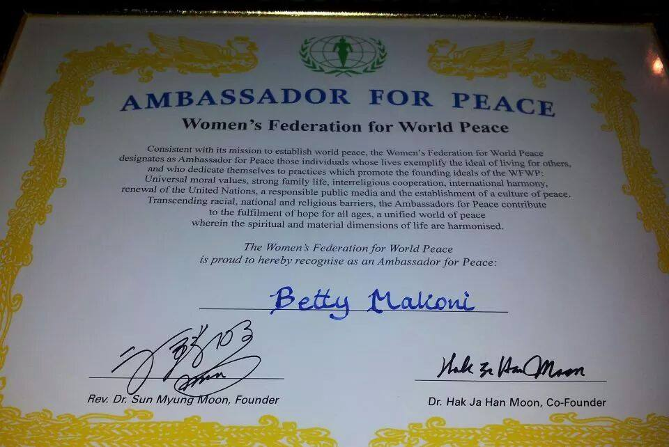 Ambassdor of Peace