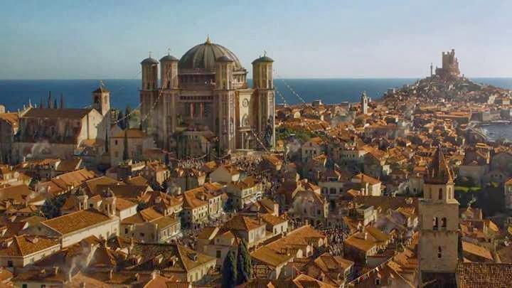 Panorámica Desembarco del Rey cuarto trailer oficial cuarta temporada Juego de Tronos - Juego de Tronos en los siete reinos