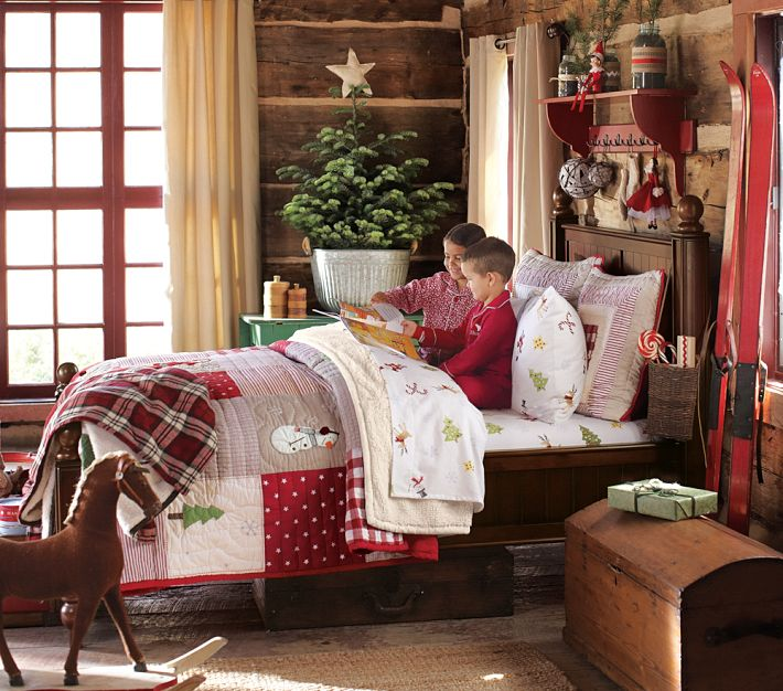 Baker hill homes festive children 39 s rooms for Jugendzimmer weihnachtlich dekorieren