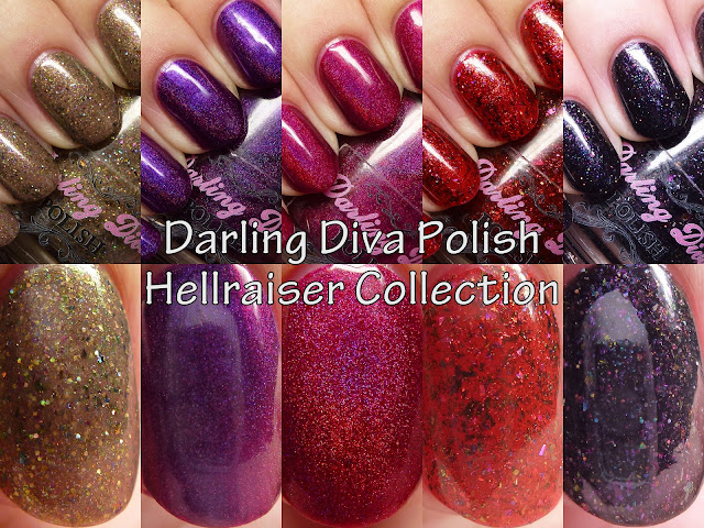 Darling Diva Polish Hellraiser Collection