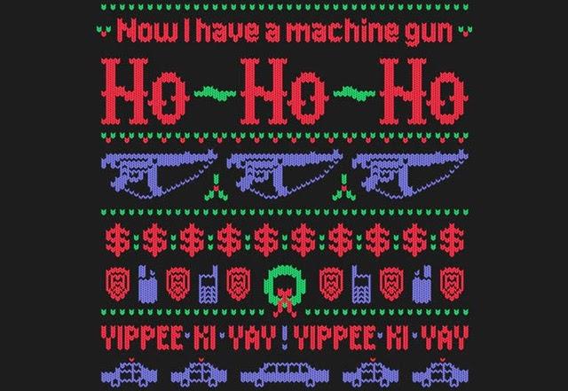 Die Hard Christmas Sweater - Фото база
