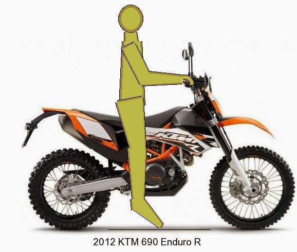KTM 690 Enduro seat height
