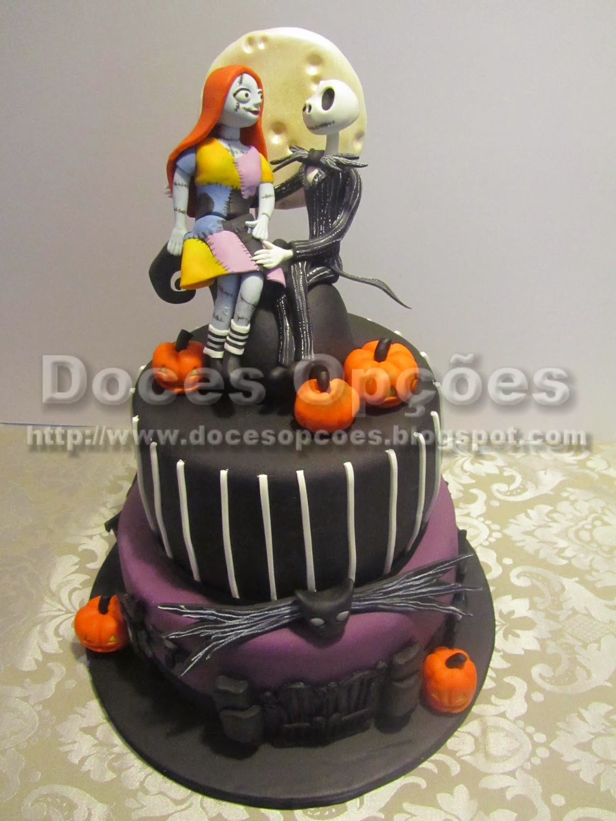 Jack Skellington  halloween cake