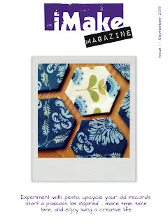 Front cover of iMake Magazine issue 1