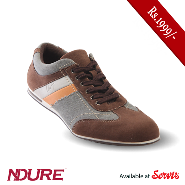 Ndure Shoes for Men by Servis