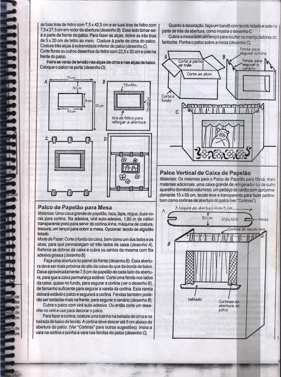 #26272F Montagem de Teatro de Fantoche com Sucatas 832 Manual De Montagem De Janela De Aluminio