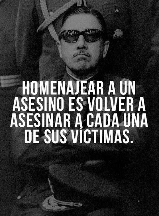 Pinochet , criminal y asesino