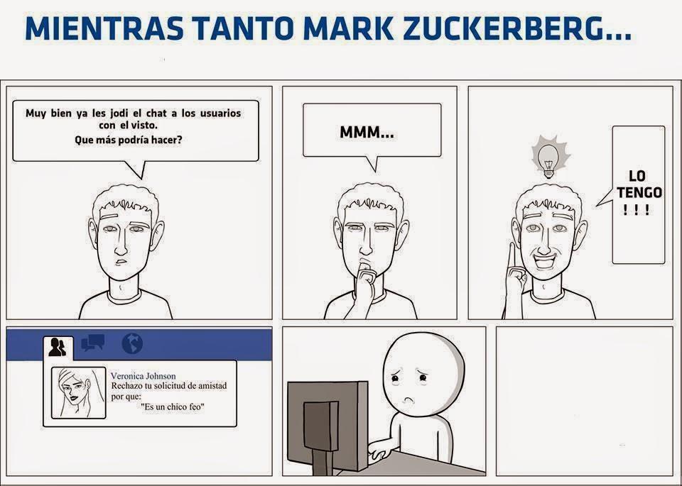 Mientras tanto Mark Zucaritas