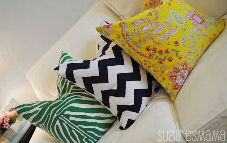 Easy Throw Pillow Tutorial