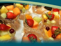 Chilled fresh fruit