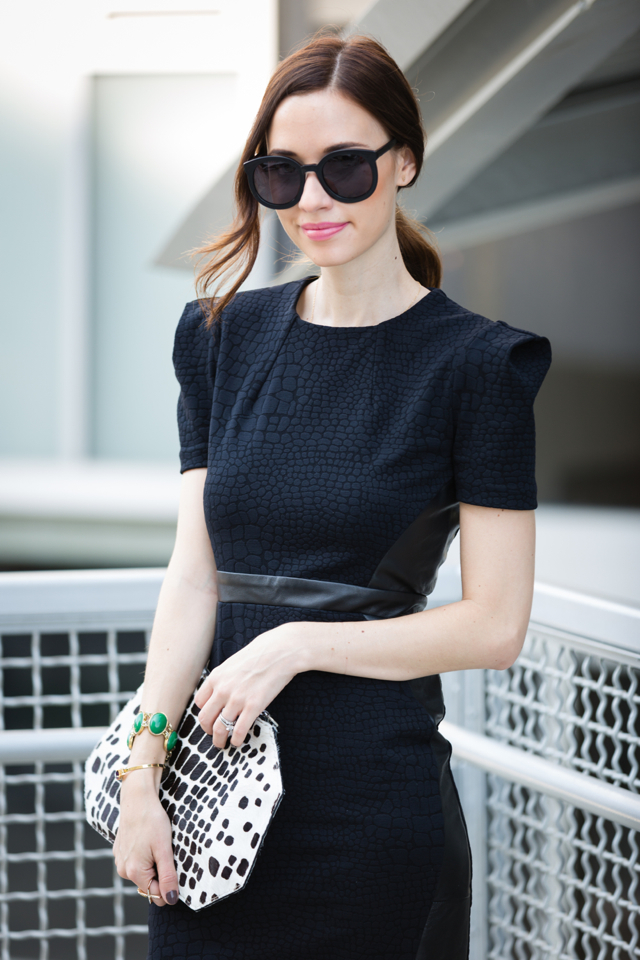 black dress for work or a date night on M Loves M @marmar