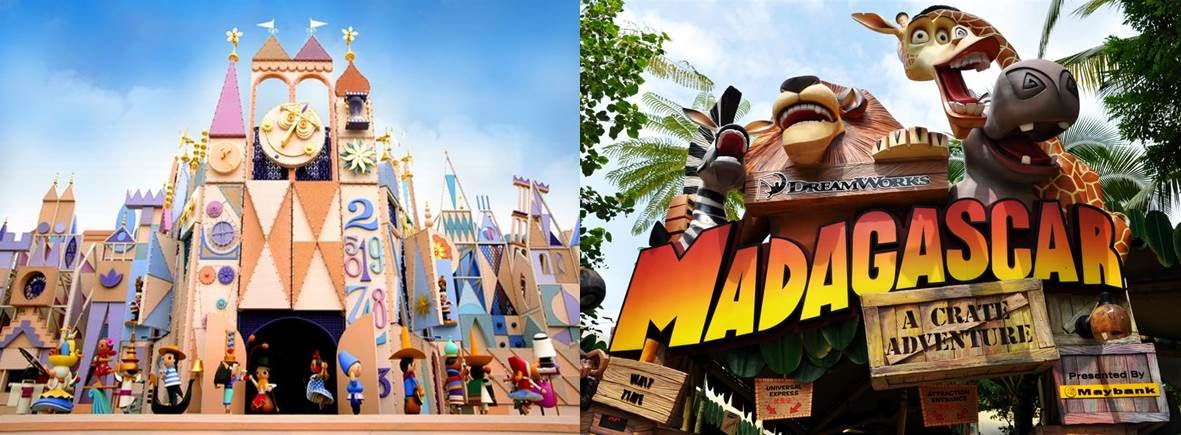 disney vs universal For vacationers from far away who have a limited time to spend in orlando, the need to compare disney's hollywood studios vs universal studios florida is difficult, but if time is limited a choice that must be made.