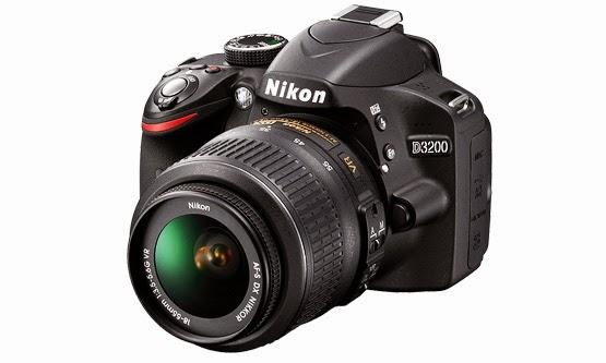 Harga dan Spesifikasi Kamera Nikon D3200 Terbaru