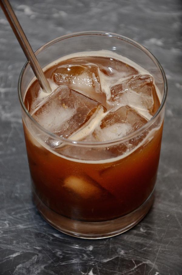 smashing pumpkin | a bourbon pumpkin cocktail recipe
