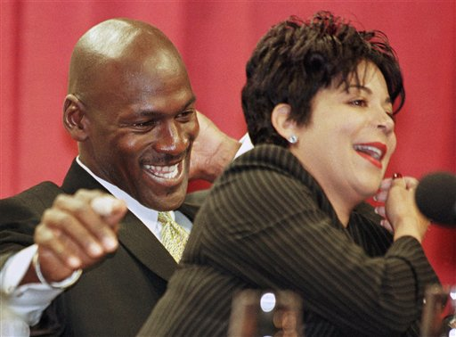 Michael Jordan With Wife Juanita The Sport And Football