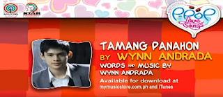 Tamang Panahon by Wynn Andrada Lyrics & Video Himig Handog P-Pop Love Songs