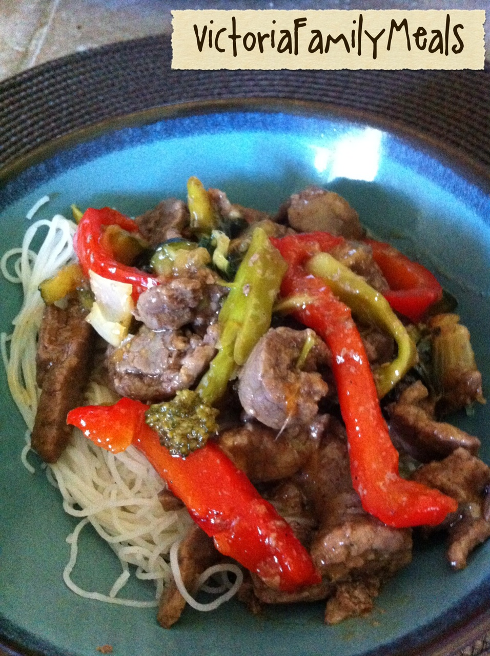 Victoria Family Meals: Korean Beef Stir Fry