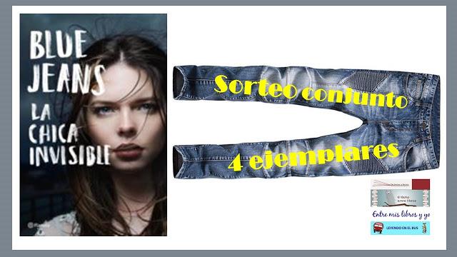 Sorteo conjunto Sant Jordi 2018 - La chica invisible de Blue Jeans
