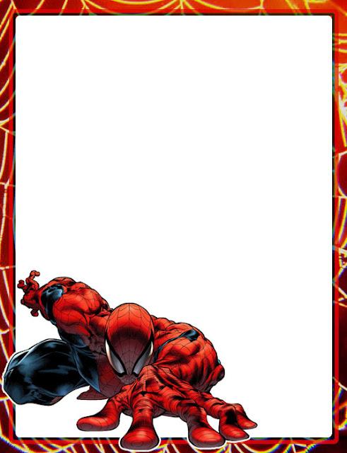 Marco para foto hombre araña - Imagui