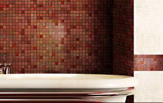 Onix FuseGlass mosaic tile