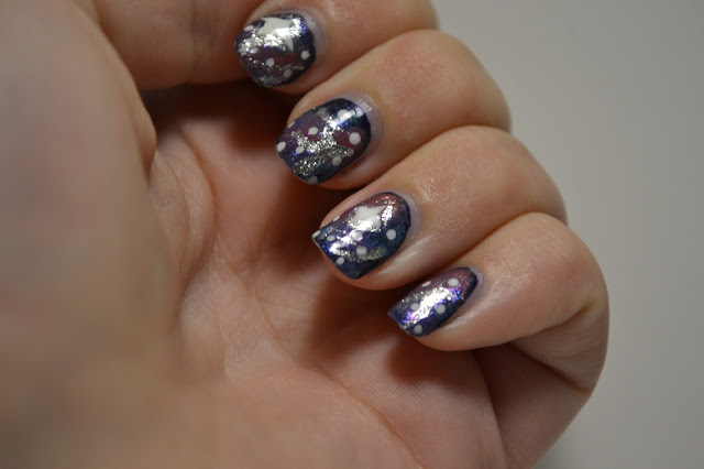 Galaxy nails by Elins Nails