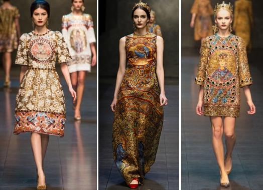 Byzantine Art meets Fashion