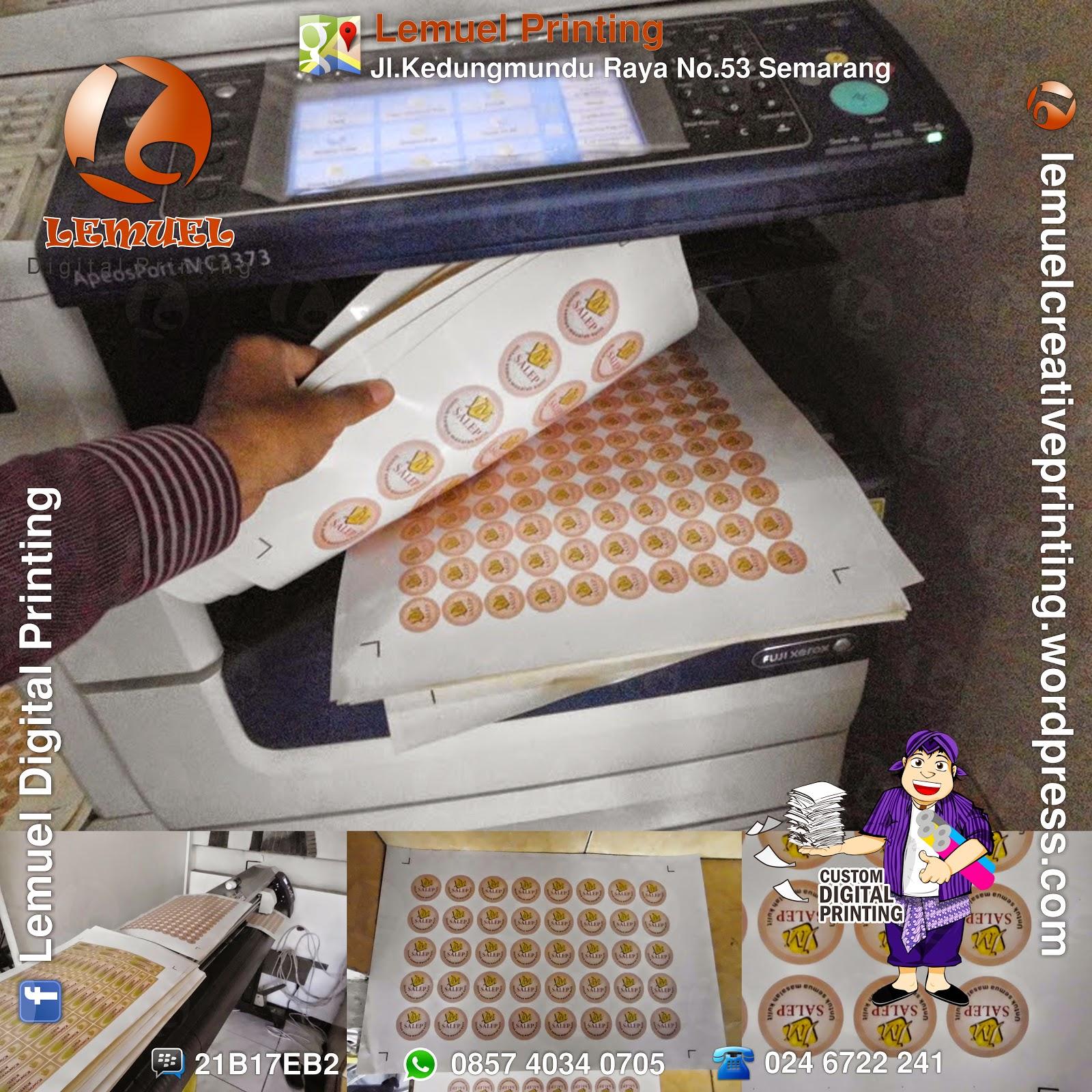 Lemuel produksi print sticker chromo a3 berkualitas by digiprint