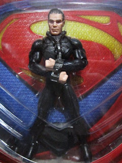 DC comics Superman Man of Steel General Zod movie masters Shackles variant figure Justice League JLU