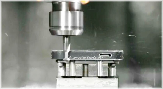 iPhone 5 cover machining