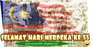 Malaysia Merdeka ke 55