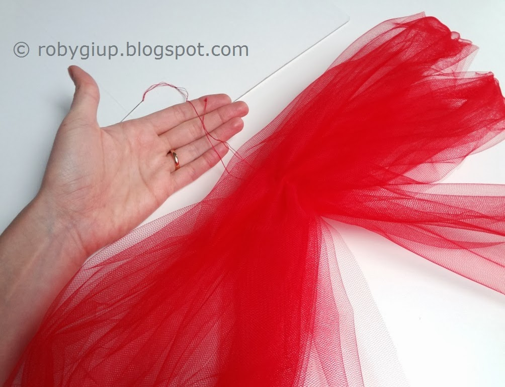 Ben noto RobyGiup handmade: Fiocchi di tulle - Tulle bows BY61