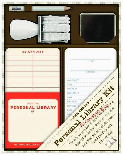 Valentine's Day Gifts for Book Lovers - Personal Library Kit
