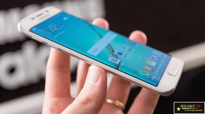 Hình ảnh chiếc Samsung Galaxy S6 Adge xách tay
