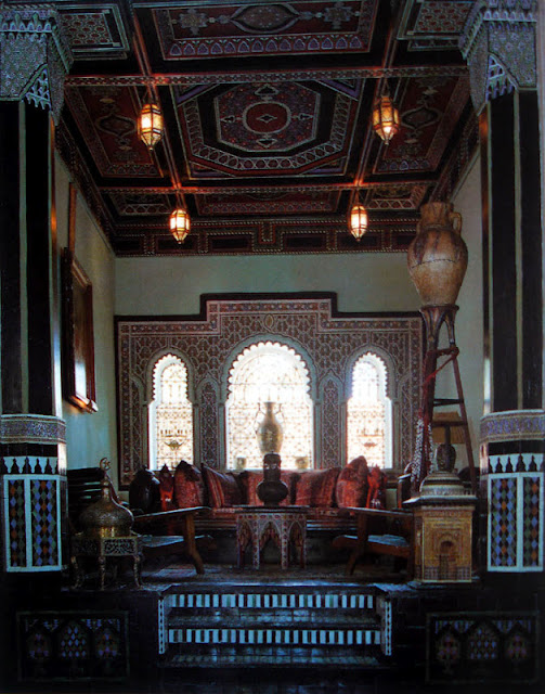 Eye for design moroccan interiors bill willis style for 360 salon montgomery al