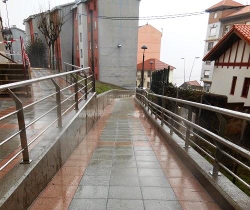 El Ayuntamiento de Abanto-Zierbena amplía la renovación urbana  del barrio de Peñucas
