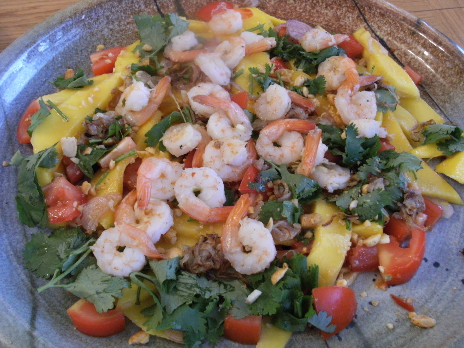 mango and prawn salad recipe healthy seafood recipe