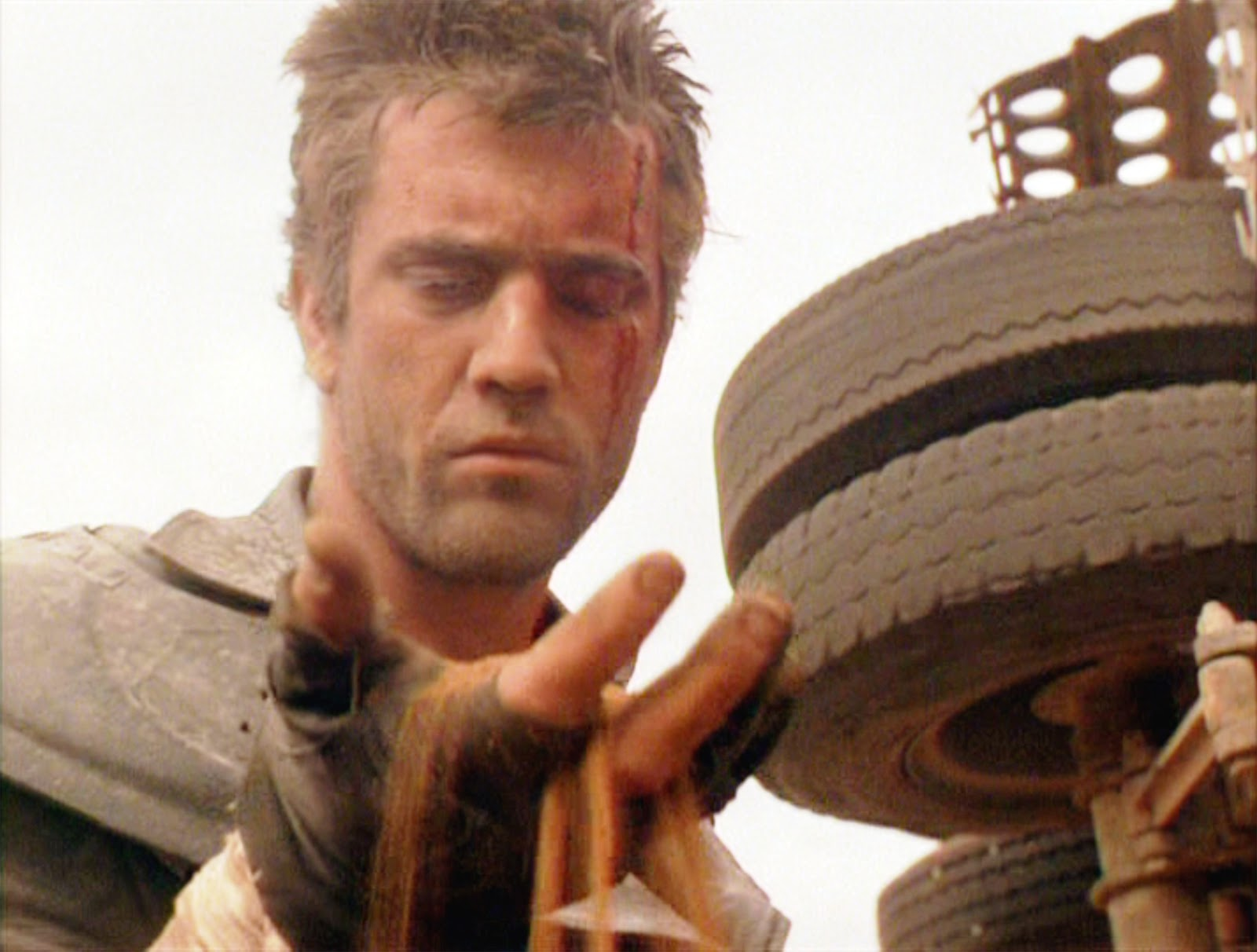 Mel Gibson Mad Max Seen Here Mel Gibson as Max