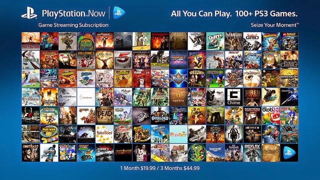 New Ps4 Games 2015 : وداعا لأجهزة بلايستيشن مع خدمة playstation now