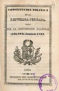 Constitución Política de la República Peruana 1834