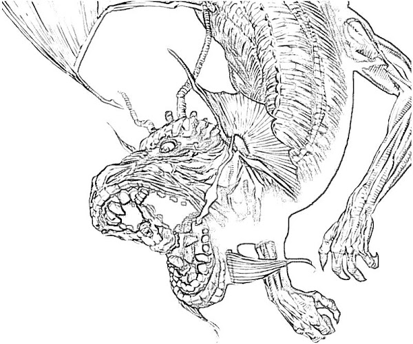 Fing Fang Foom Coloring Page