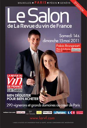 Le salon de la revue du vin de france for Salon des vins de france