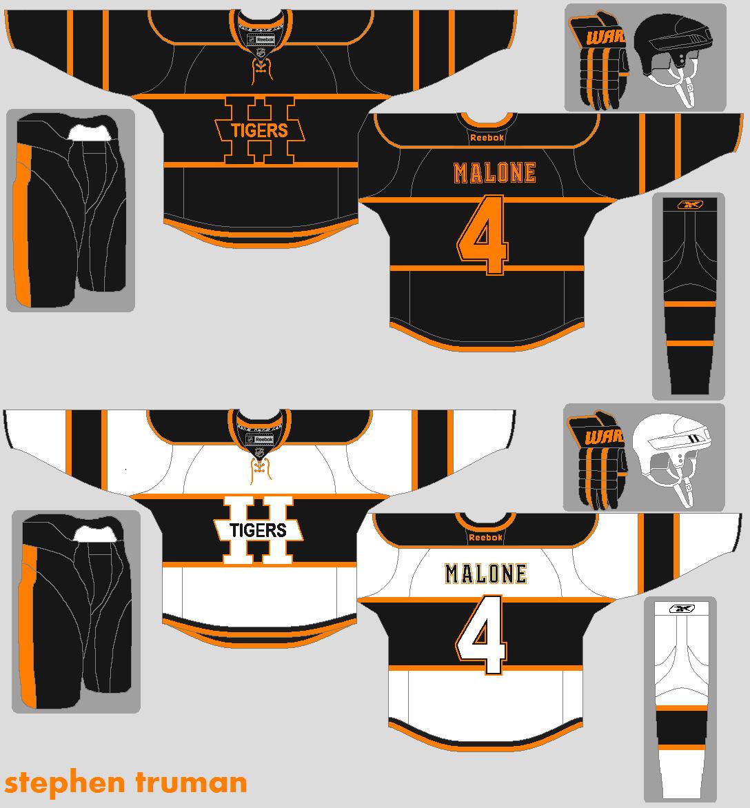 how to draw a quad city mallards jersey