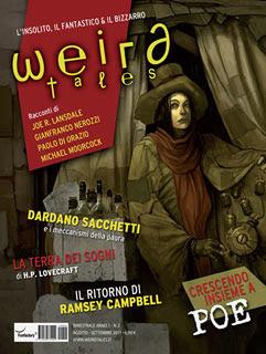 Weird Tales Italia n. 2, agosto/settembre 2011, copertina