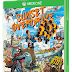 Sunset Overdrive's box art is bright, artistic