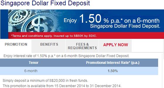 Scg8866t Stockinvesting Uob 1 5 Sgd Fix Deposit Promotion