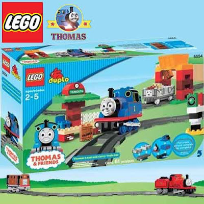 Lego Duplo Thomas the tank engine train set toy load and carry collection signal station 16 tracks