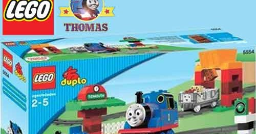 5554 Lego Duplo Thomas The Tank Engine Train Set Toy Load And Carry