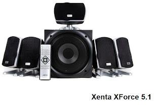 Xenta XForce 5.1 surround sound system