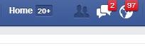 Pemberitahuan Facebook Full