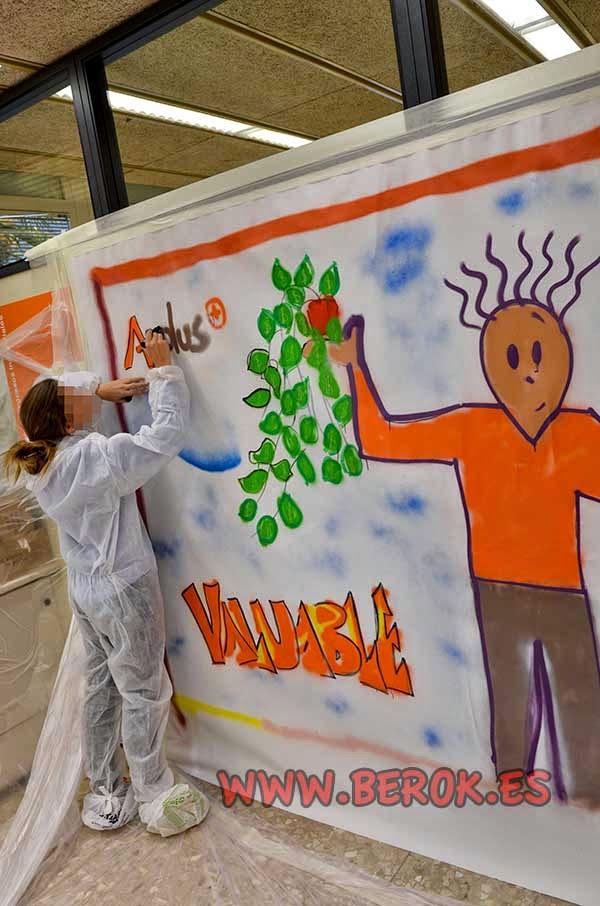 Talleres de graffiti para empresas